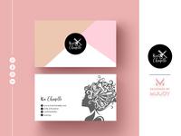 Kai Hairs | Clean & Elegant Business card Design by MUUDY