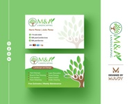 Attractive Business Card Design | MUUDY