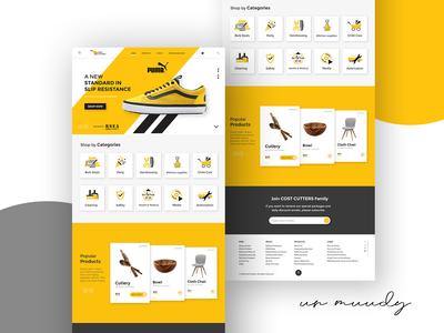 Costcutter Landing Page | MUUDY