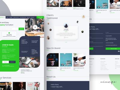 Landing Page Design | MUUDY