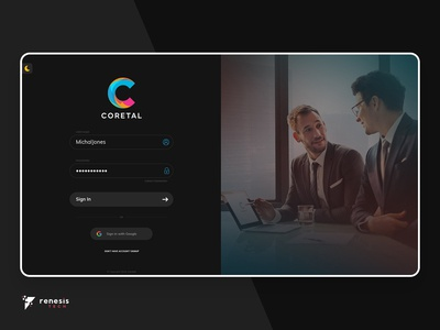 Project Management Software Dashboard Design