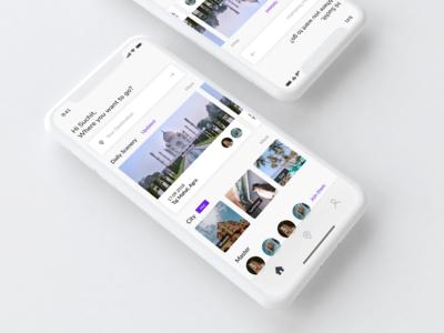 Travel Concept App - iOS
