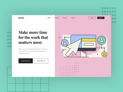 Wark. - Team organization and productive platform