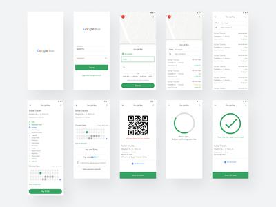 Google Bus Concept [ few screens ]