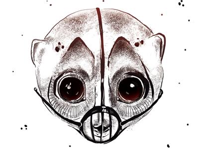 Slow Loris first shot hello draw character illustration debut animal