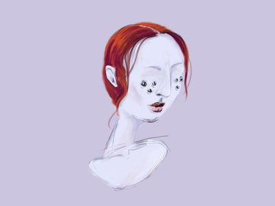 good eyes illustration character draw