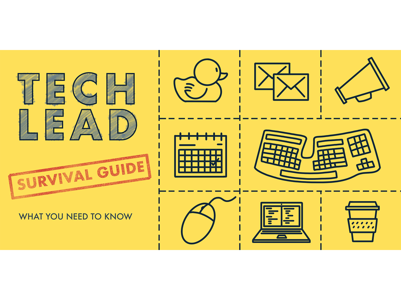 Tech Lead Survival Guide rubber duck keyboard tech survival workbood survival guide tech lead