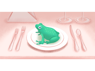 Froggy Dinner