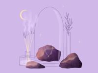 Necklace & rocks
