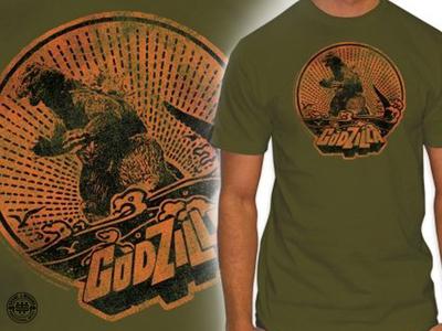 Godzilla Crest Illustration
