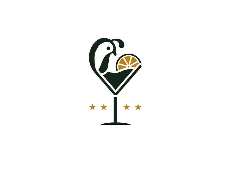 Logo For California Cocktail By Easay Dribbble