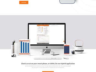 Acalculators Website Design ui design uiux home page landing page website design. webpages
