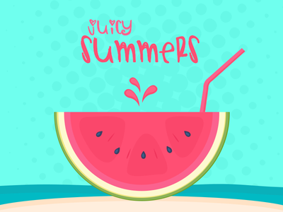 Watermelon vector minimal food water slice juicy juice summers hydrate fruit delicious watermelon