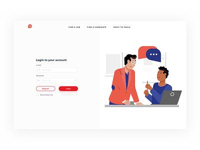 Free Login Form - Sketch source File webdesign web design website design ux ui form trends