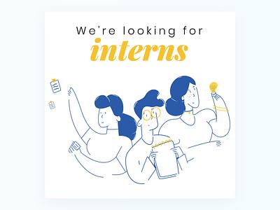 The Three Musketeers - Internship Program Campaign internship socialmedia artdirection branding illustration