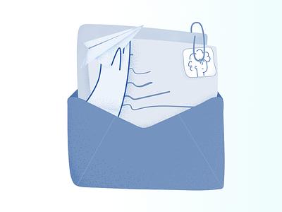 Check your e-mail branding design up illustration start trends vector