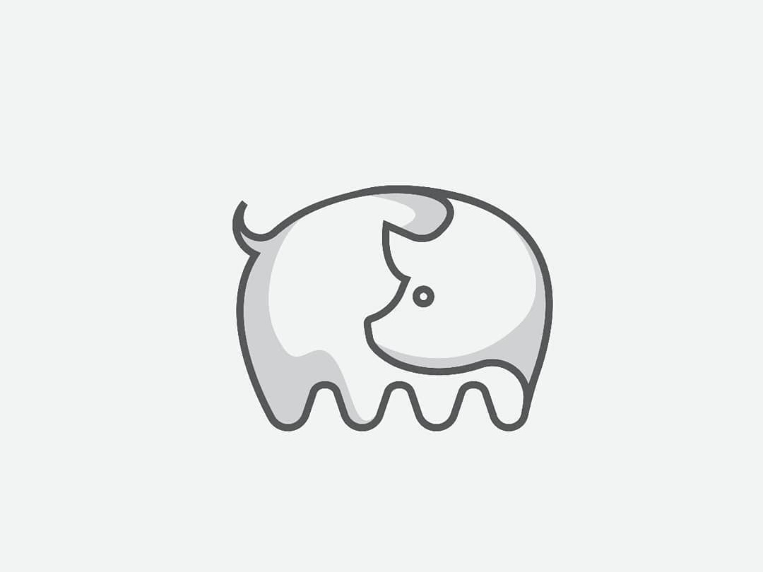 Pig logo design logo icon piglogo 2019pig
