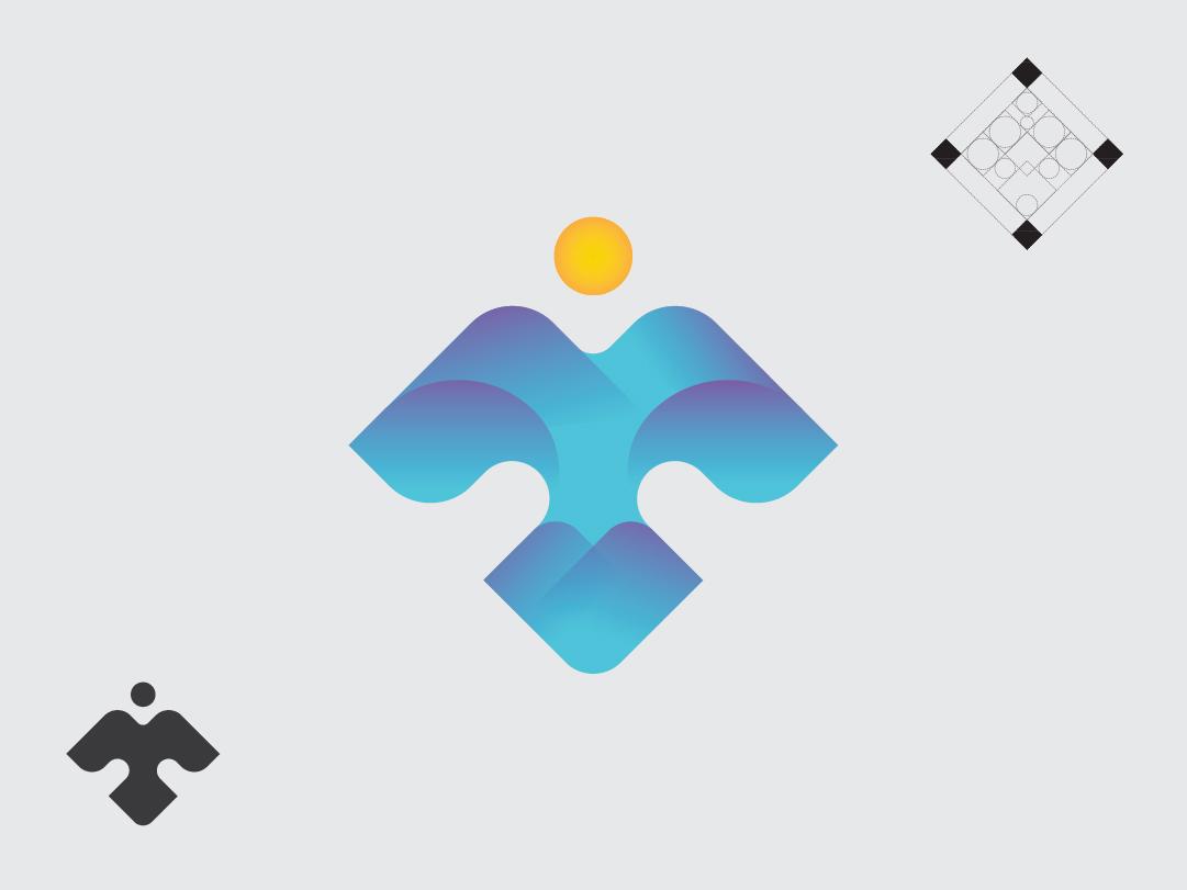 bird bird icon design logo