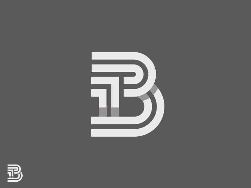 13 icon letter logo