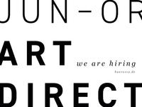 WE'RE HIRING - Junior Art Director