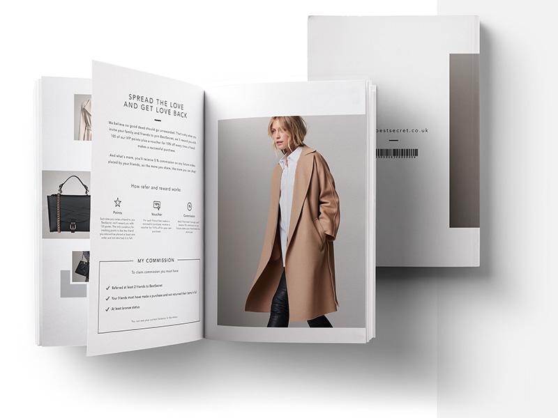 Best Secret Magazin designer icon illustration design typography concept logo branding ad brand artdirector minimal interface e-commerce ui shop fashion ux