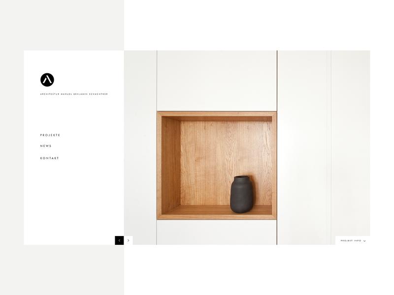 architektur manuel benjamin schachtner minimalism webdesign design architecture design architechture concept artdirector minimal interface ui ux
