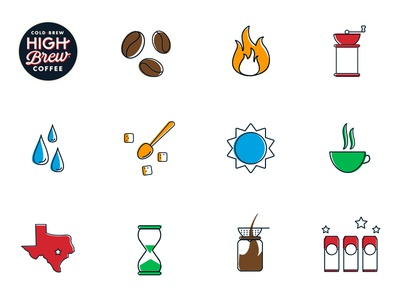 Cold Brew For Those Who Do austin graphic design offset texas line design vector minimal coffee icons