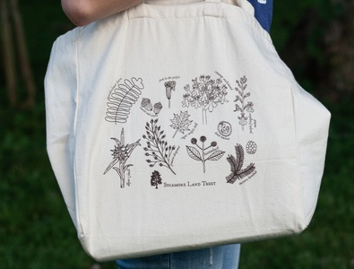 Native Plant Tote Bag