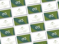 Business Card Design for Eyewear Company