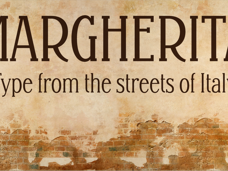 Margherita - New Type fonts type typeface lettering typography font type design