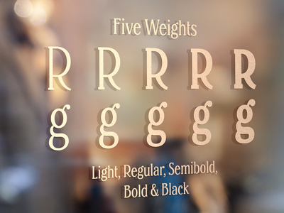 Margherita - New Type fonts font design type typeface lettering typography font type design