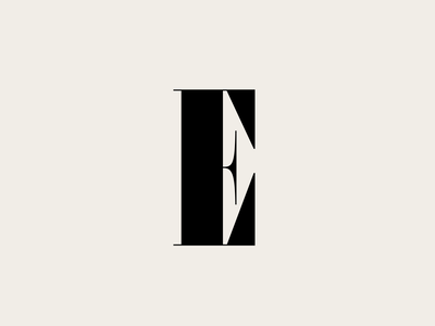 E font design type typeface lettering typography font type design