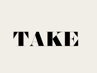 Take 2 fonts font design type typeface lettering typography font type design