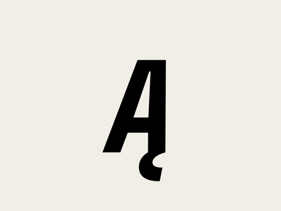 Ą new form font design type typeface lettering typography font type design