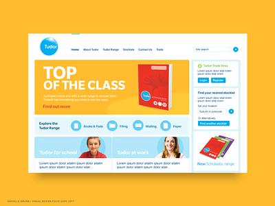 Tudor/DTDigital 2008-2009 user interface 2009 old school web design ui web design landing page