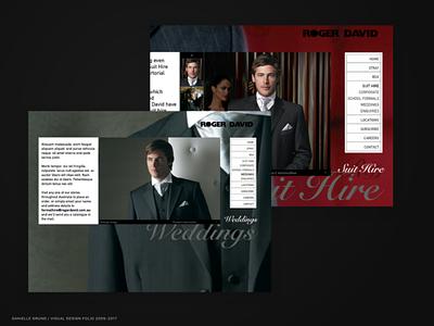 DTDigital 2008-2009 Roger david agency marketing campaign user interface concept design ui web design landing page
