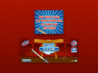 All star karate campaign interactive banner - ninja