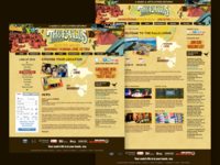 Falls Festival 2009 - Website