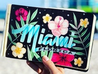 Lettering Cities Series - Miami