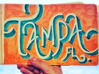 Lettering Cities Series - Tampa