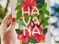 Lettering Cities Series - Havana