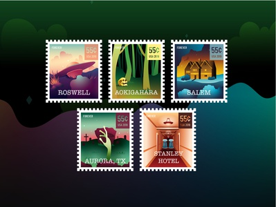 Destination Unknown Stamp Collection
