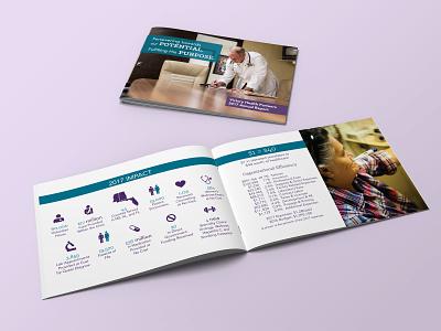 Victory Health Partners Annual Report design print design art direction creative direction publication design annualreport annual report non-profit organization non-profit pro bono healthcare