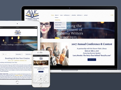 Alabama Writers Conclave Website