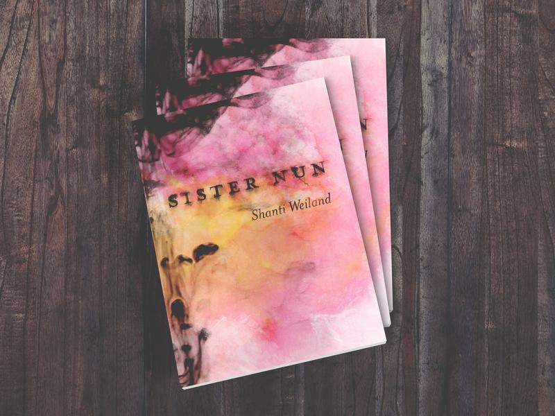 Sister Nun Book Design print design book design creative direction publication design art direction book cover bookcover book