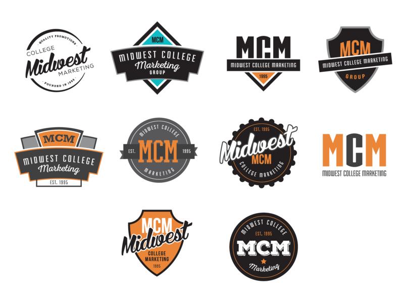 MCM Logo Concepts badgedesign badge logo badges logo concepts branding concepts logo design branding logos logo design