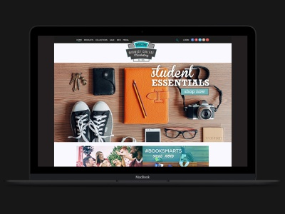 MCM Website Concept visual designer ux design branding concepts website concept website design website