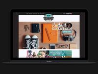 MCM Website Concept