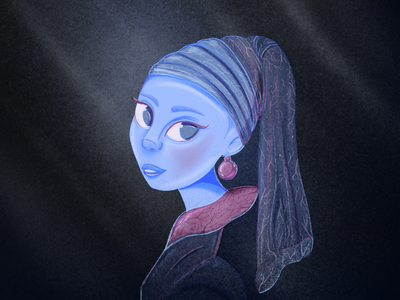 Girl with a pearl earring fanaert