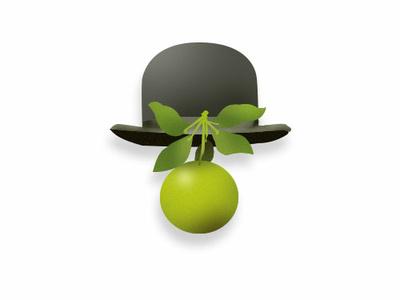 Magritte photoshop illustration